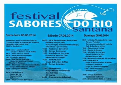 1 festival sabores do rio - programa