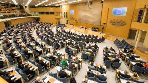 Parlamento sueco_105599801_foto.bbc.politicos.parlamento