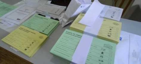 Boletim voto