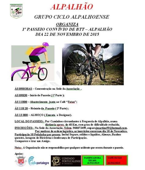 Btt ciclo alpalhoense