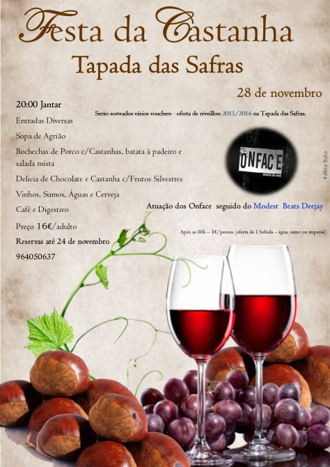 Festa da Castanha - Tapada das Safras 28 NOV15