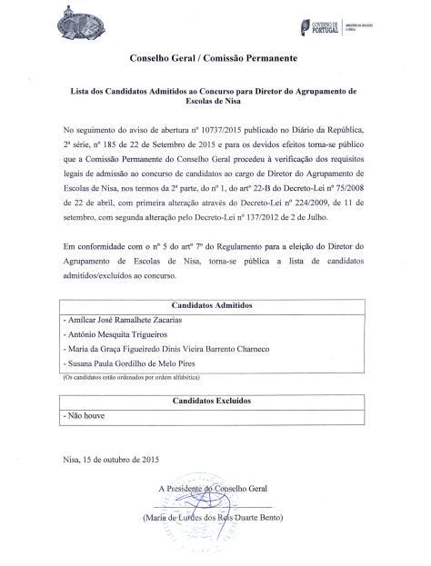 Lista dos candidatos admitidos a concurso para diretor-page-001