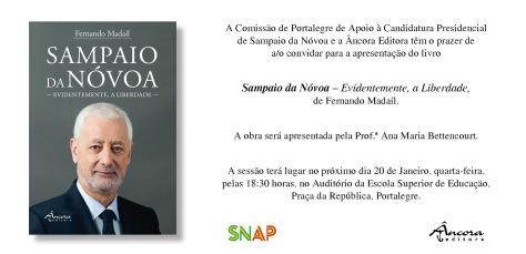 Sampaio da Nóvoa apresentação de livro sampaio da nóvoa