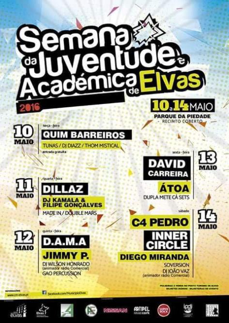 Semana Académica de Elvas 2016