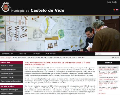 Site Castelo Vide
