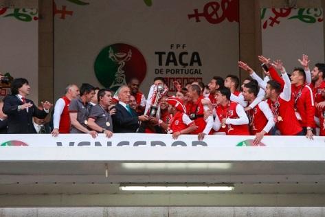 Final da Taca de Portugal, Futebol Clube do Porto, Sporting Clube de Braga, Estadio do Jamor, Adeptos do Sporting clube Braga