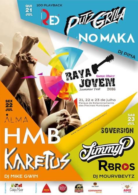 Raya Jovem Summer Fest 2016 @ Campo Maior