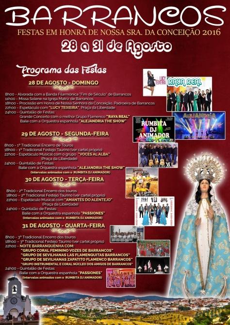 Festa Barrancos programa fera2016