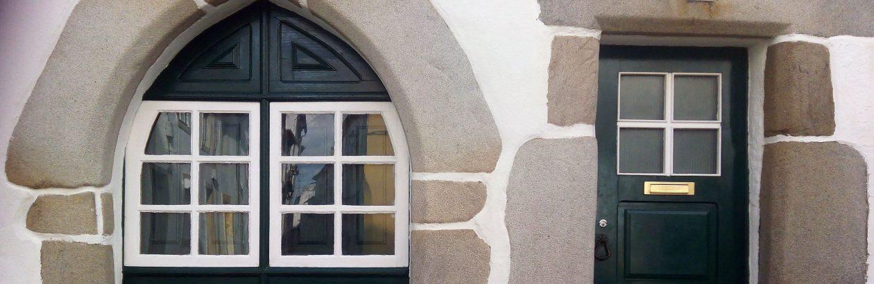 A porta e a janela