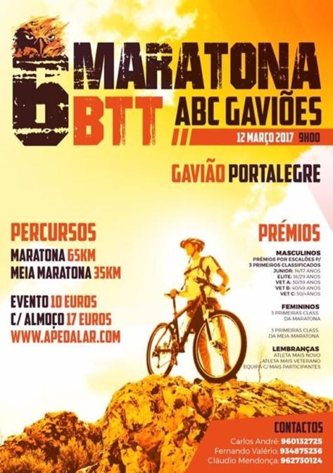 gavião 6a_maratona_de_btt_cartaz