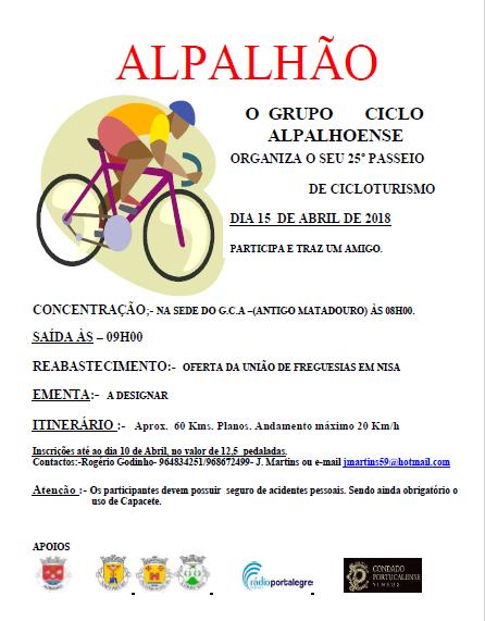 Ciclo 1 alpalhão cicloturismo