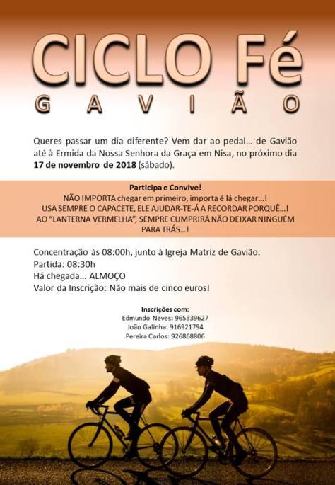 Ciclo Gaviao 45389556_1958209957567482_2945750865249566720_n