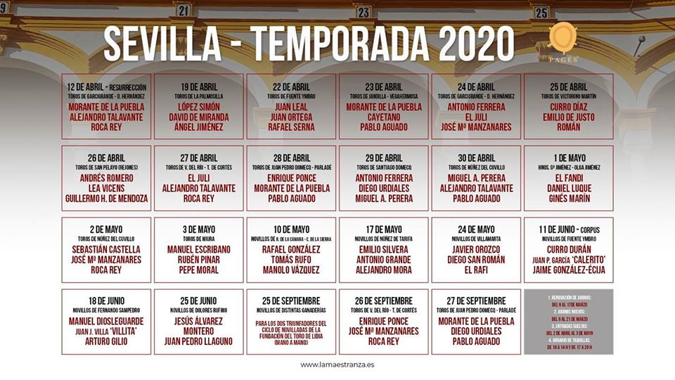 Sevilla Temporada